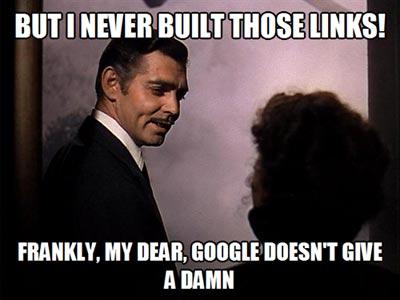 SEO Meme: Google Doesn't Give A Damn