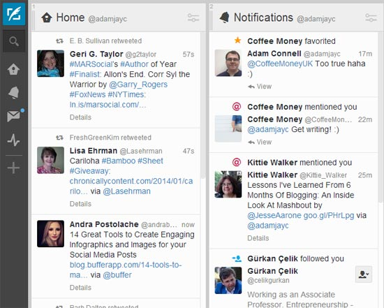 Save Time Managing Twitter With Tweet Deck