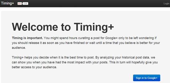 Timing+