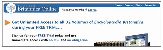 Britannica Online After