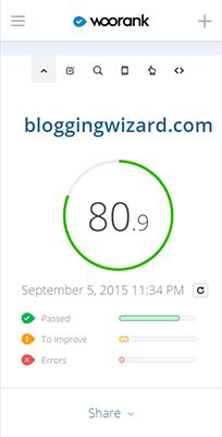 SEO Website Analysis By WooRank