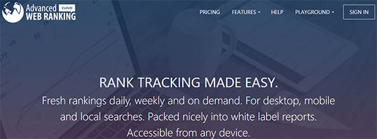 Advanced Web Tracking Cloud